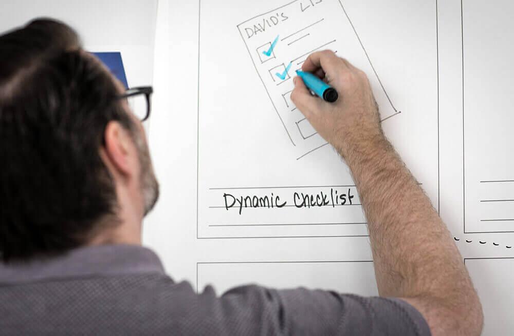 man-board-checklist